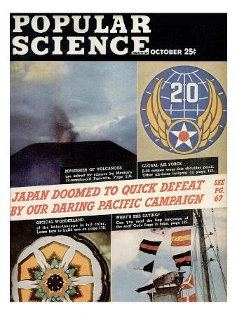 Front cover of Popular Science Magazine: October 1, 1940