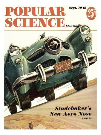 Front cover of Popular Science Magazine: September 1, 1949