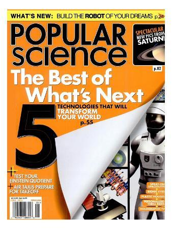 Front cover of Popular Science Magazine: June 1, 2005