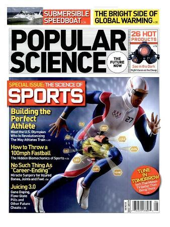 Front cover of Popular Science Magazine: August 1, 2008