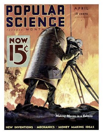 Front cover of Popular Science Magazine: April 1, 1900
