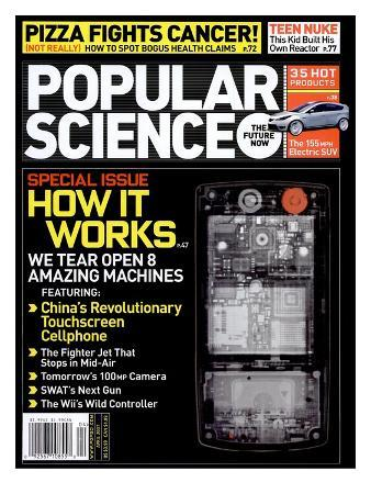 Front cover of Popular Science Magazine: April 1, 2007