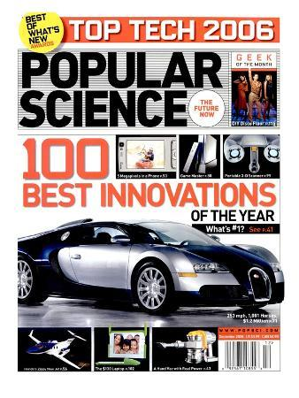 Front cover of Popular Science Magazine: December 1, 2006