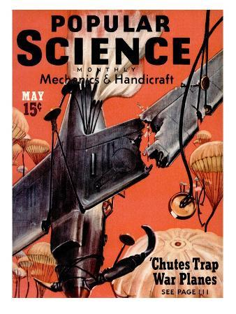 Front cover of Popular Science Magazine: May 1, 1940