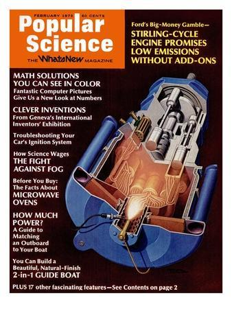 Front cover of Popular Science Magazine: February 1, 1973