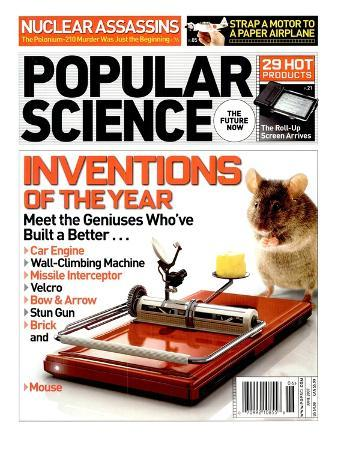 Front cover of Popular Science Magazine: June 1, 2007