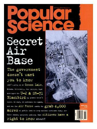 Front cover of Popular Science Magazine: March 1, 1994