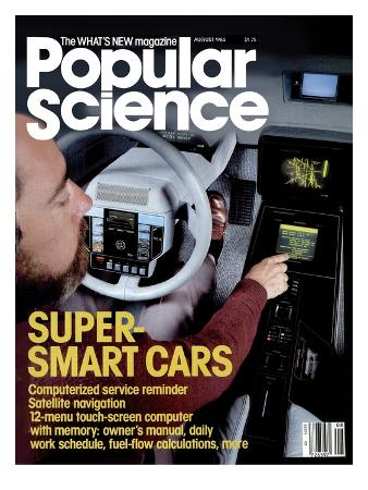 Front cover of Popular Science Magazine: August 1, 1984