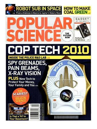 Front cover of Popular Science Magazine: February 1, 2007