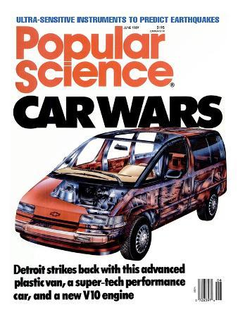 Front cover of Popular Science Magazine: June 1, 1989
