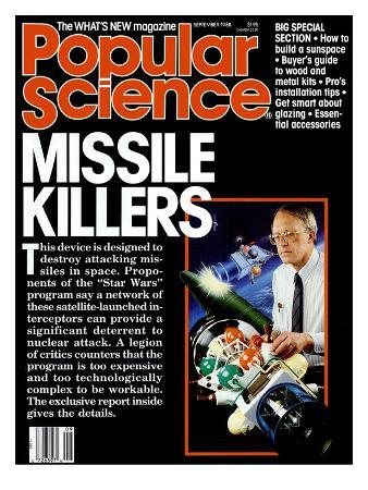 Front cover of Popular Science Magazine: September 1, 1988