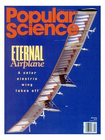 Front cover of Popular Science Magazine: April 1, 1994