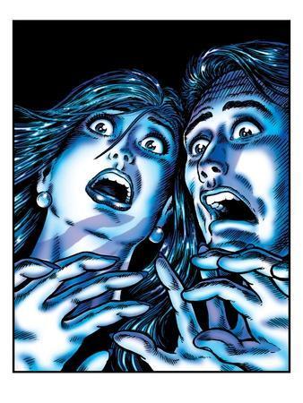 Horrified Couple