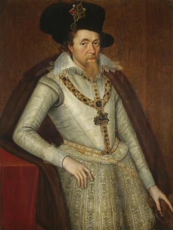 Portrait of James I of England