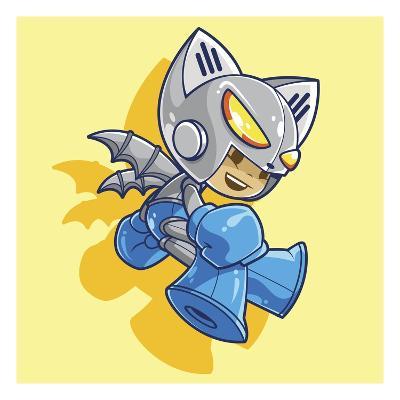 Mega Robo Bat