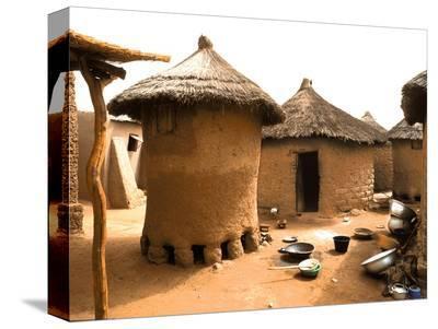 Houses in Djiri Village