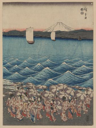 Opening Celebration of Benzaiten Shrine at Enoshima