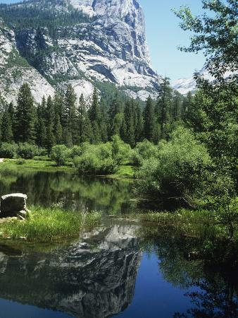 Mount Watkins and Mirror Lake