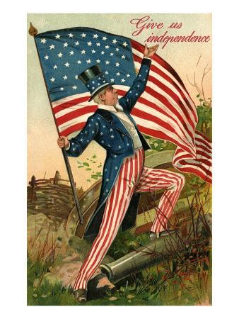 Give Us Independence with Uncle Sam