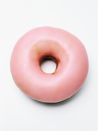 Iced doughnut