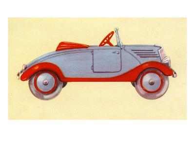 Illustration of toy car