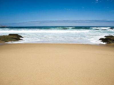 Empty beach in Chile
