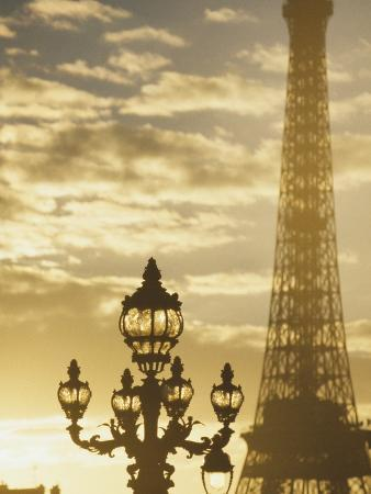 Sunset At The Eiffel Tower/ Paris, France