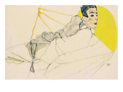 Reclining Boy (Erich Lederer)