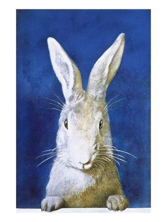Magazine Cover Depicting a Rabbit by Frank S. Guild