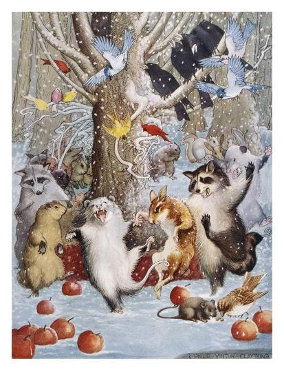 Christmas In The Woods.Christmas In The Woods