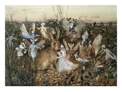 A Rabbit Among the Fairies