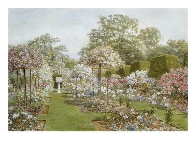 The Rose Garden, Clandon Park, Surrey, England