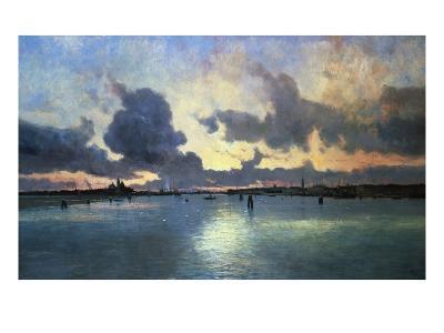 Sunset on the Laguna, Venice, Italy