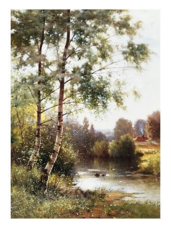 Landscape near Sonning on Thames, England
