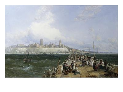 A View of Margate from the Pier