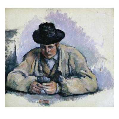 Study for The Cardplayers