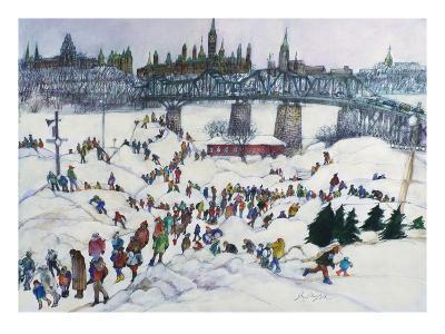 Winterlude, Pirovik - Ottawa-Hull, Canada