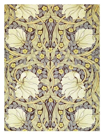Pimpernell Wallpaper Design William Morris