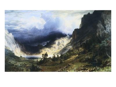 A Storm in the Rocky Mountains - Mt. Rosalie