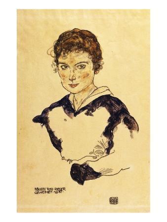 Portrait of Miss Toni Rieger