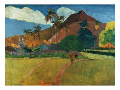 Tahitian Mountains