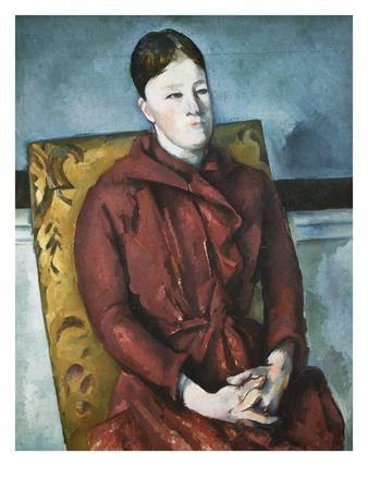 Madame Cezanne in a Yellow Armchair