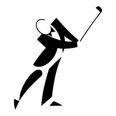 Golf Player in Tuxedo