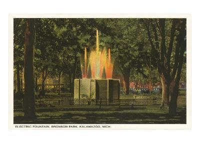 Electric Fountain, Kalamazoo, Michigan