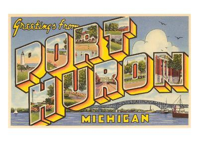 Greetings from Port Huron, Michigan