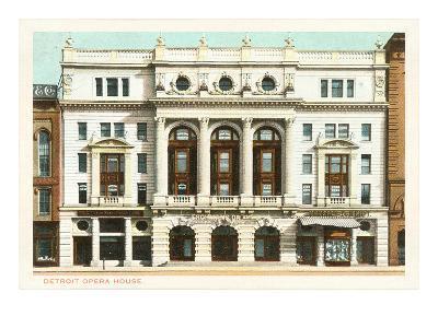 Opera House, Detroit, Michigan