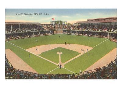 Briggs Stadium, Detroit, Michigan