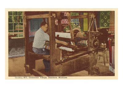 Loom, Greenfield Village, Dearborn, Michigan