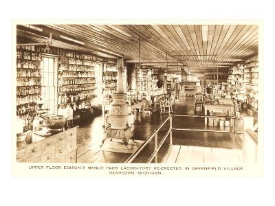 Edison's Laboratory, Greenfield Village, Dearborn, Michigan