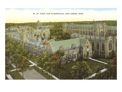 Law Quadrangle, Ann Arbor, Michigan
